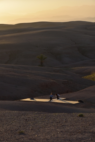 йога марракеш марокко пустеля