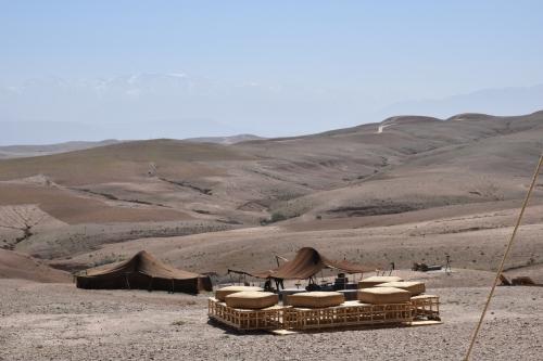 марракеш марокоо пустеля наметове містечко скарабео